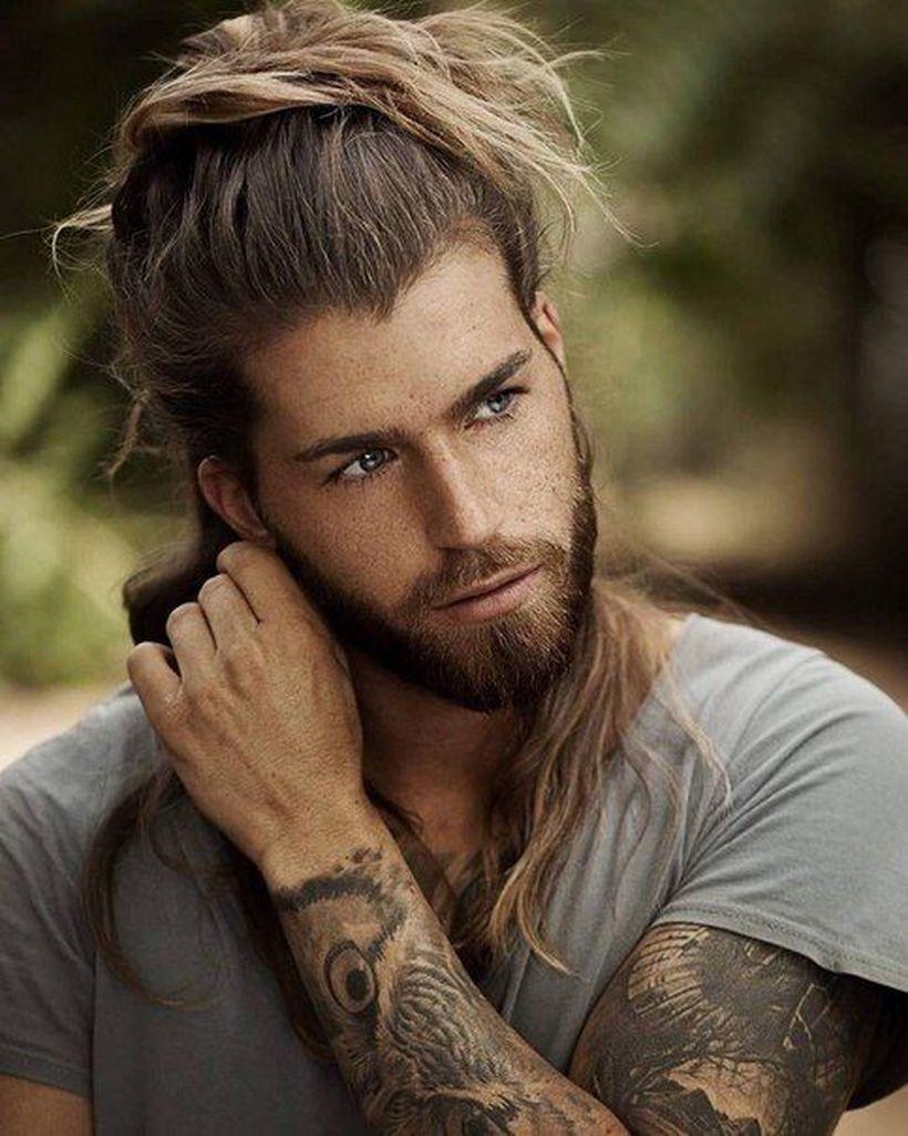 53 Long Hair For Men In Dazzling Style Pria Rambut Panjang Gaya Model Pakaian Pria Gaya Pria