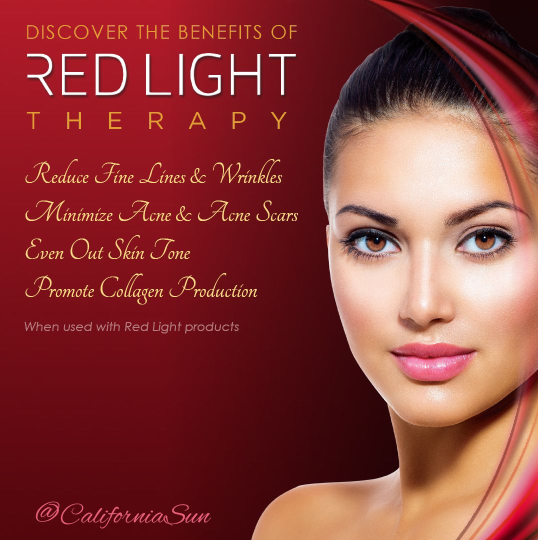Discover the benefits of Red Light when used with Red