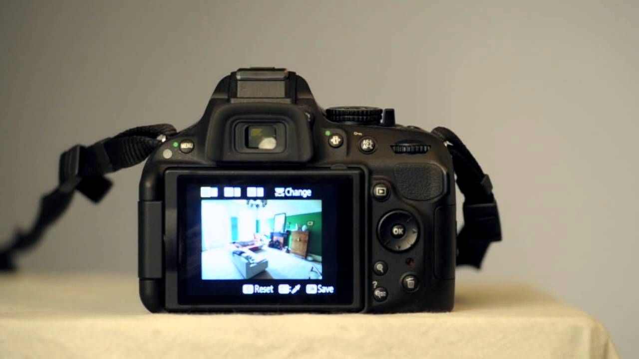 Video tutorial for using selective color on Nikon D5200