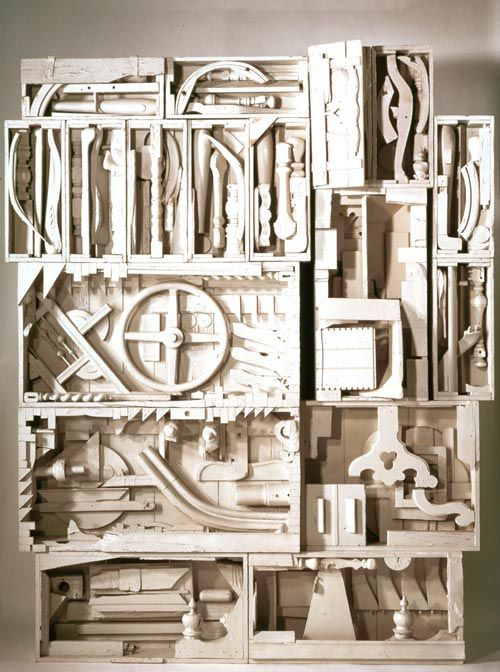 Fabuleux Louise Nevelson, Dawn's Wedding Chapel IV, from Dawn's Wedding  QV87