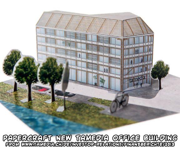 New Tamedia Office Building (Shigeru Ban, 2013)