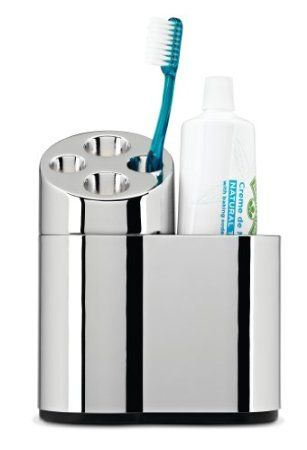 Best Amazon Com Simplehuman Toothbrush Holder With Caddy 400 x 300