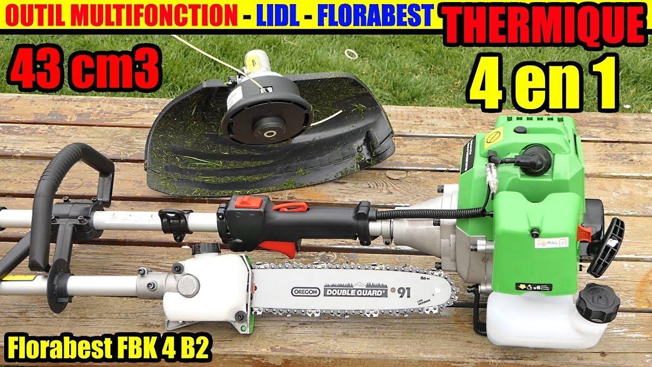 Multiattrezzo 4 In 1 A Motore Lidl Florabest Fbk 4 B2 Disimballaggio Outdoor Power Equipment Lidl Lawn Mower