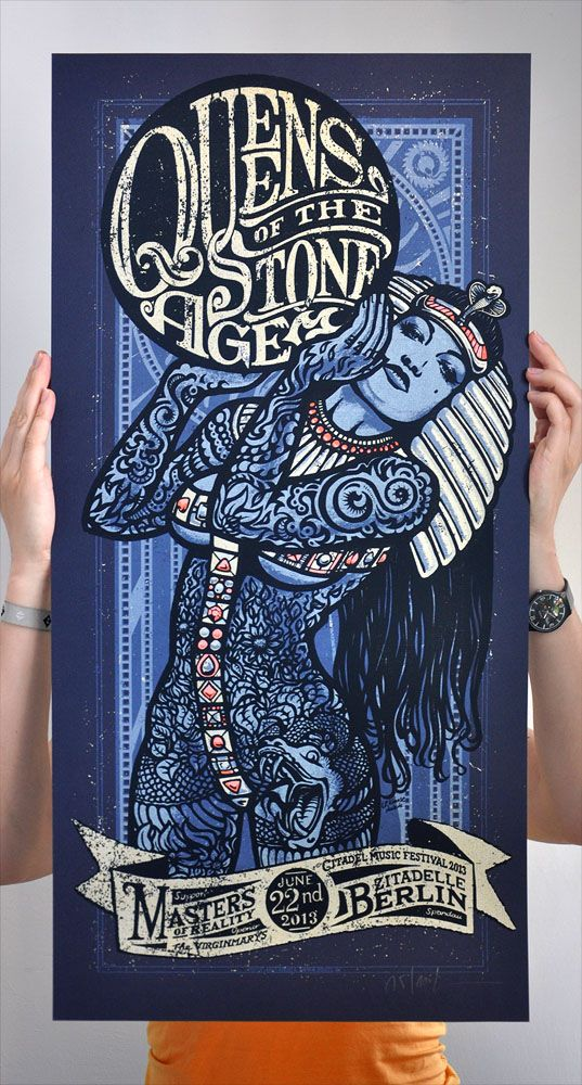 INSIDE THE ROCK POSTER FRAME BLOG: Queens of the Stone Age ...
