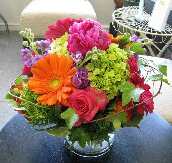 Summer Wedding Centerpiece Ideas: Wedding Reception Flowers