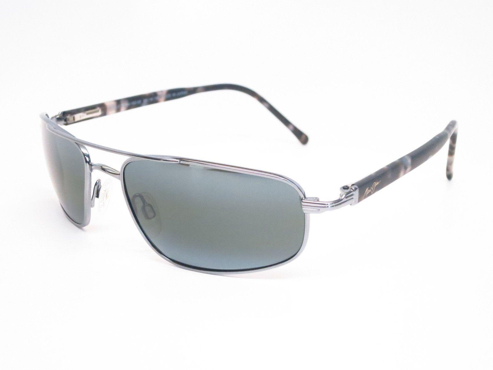 59f22b0fe59 Maui Jim Kahuna MJ 162-02 Gunmetal Polarized Sunglasses