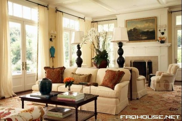 Traditional English Living Room Design Round Sofa Decor Style Interior And House Apartment