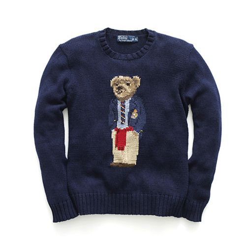 Ralph Lauren Vintage - Polo Bear Sweater. To have one of these nowadays is a