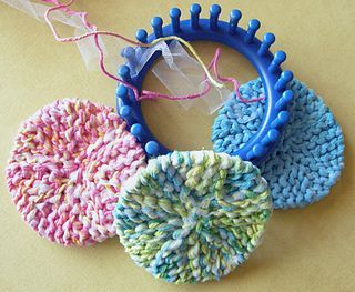 Scrubby-O's pattern by Bethany A Dailey #loomknitting