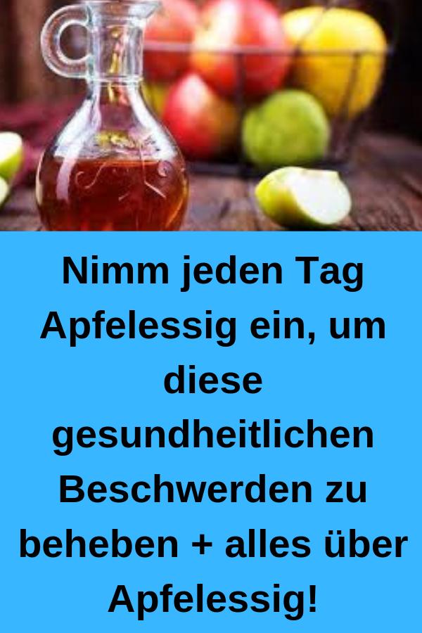 Apfelessig trinken gegen diabetes