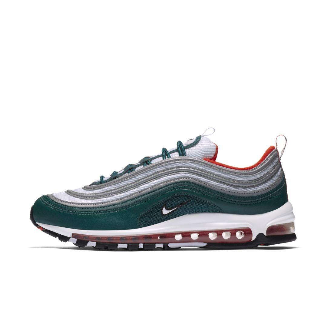 uk availability 2cfc4 cb2b3 Nike Air Max 97 Mens Shoe Size 9 (Rainforest)