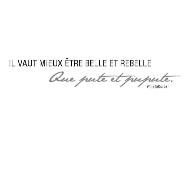 Merci Tiretacorde Belle Rebelle Jolis Mots Humour