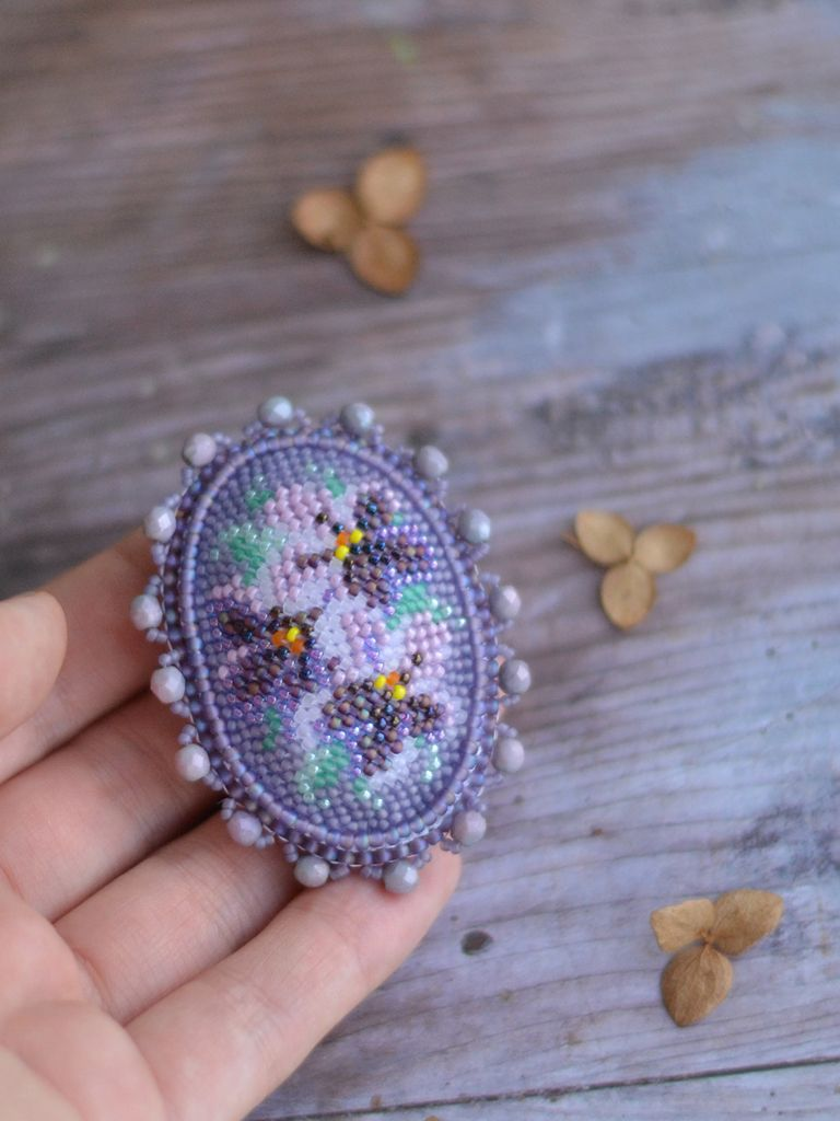 brooch mother pin day upcycled to how stitched stitch projects a embroidery