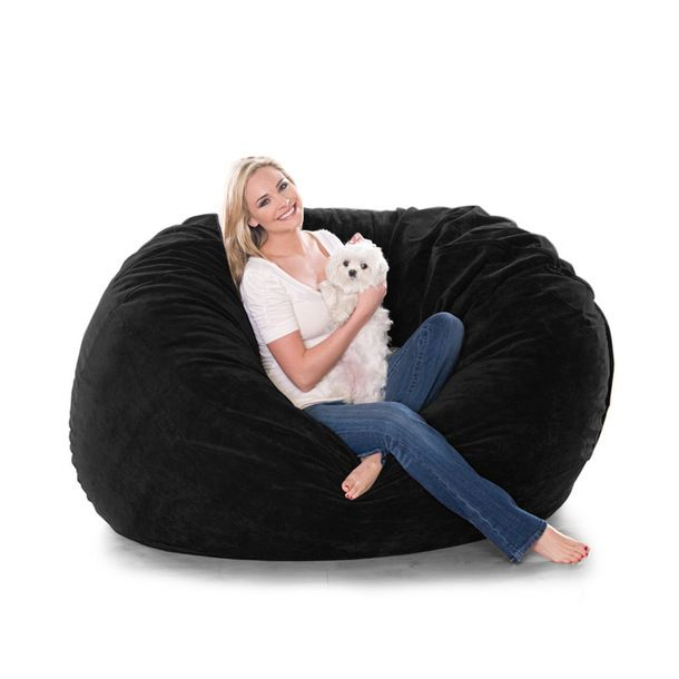 Oversized Beanbag Co When Flat It S A Round Little Lounger On