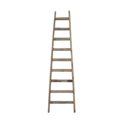 Hkliving Ladder Decoratief Teakhout Woonaccessoires Houten Ladder