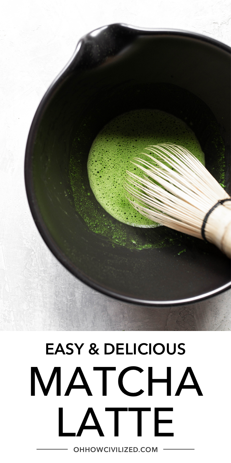 Easy And Delicious Matcha Latte In 2020 Matcha Latte Matcha How To Make Matcha