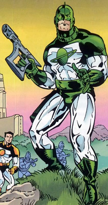 Image result for mar-vell, green costume