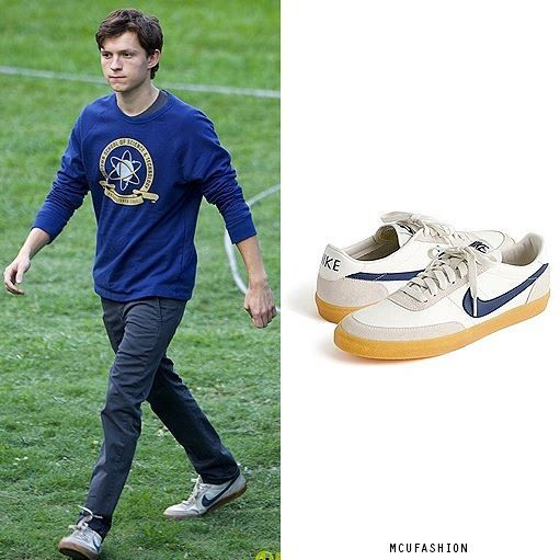 WHO: Tom Holland as Peter Parker WHAT: Nike for J.Crew