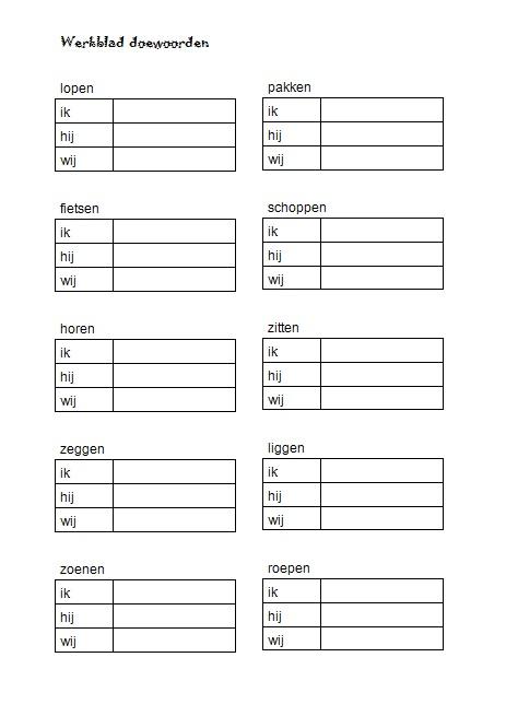 Welp Taal Op Maat groep 4 werkbladen | Taal, Werkbladen, Spellingsoefening QD-55