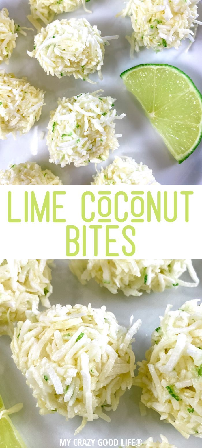 Lime Coconut Energy Bites