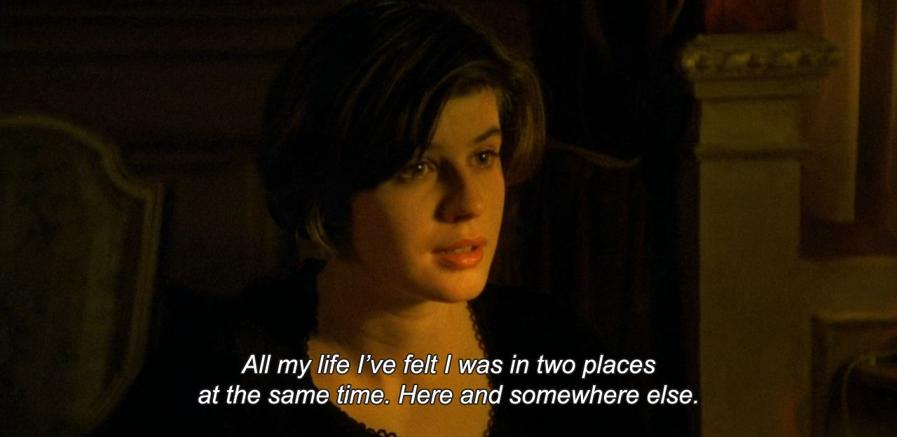 Anamorphosis And Isolate Double Life Movie Quotes Film Quotes