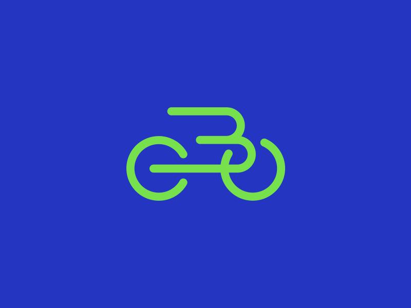 B Bike Bike Logo Bike Logos Design Logo Design