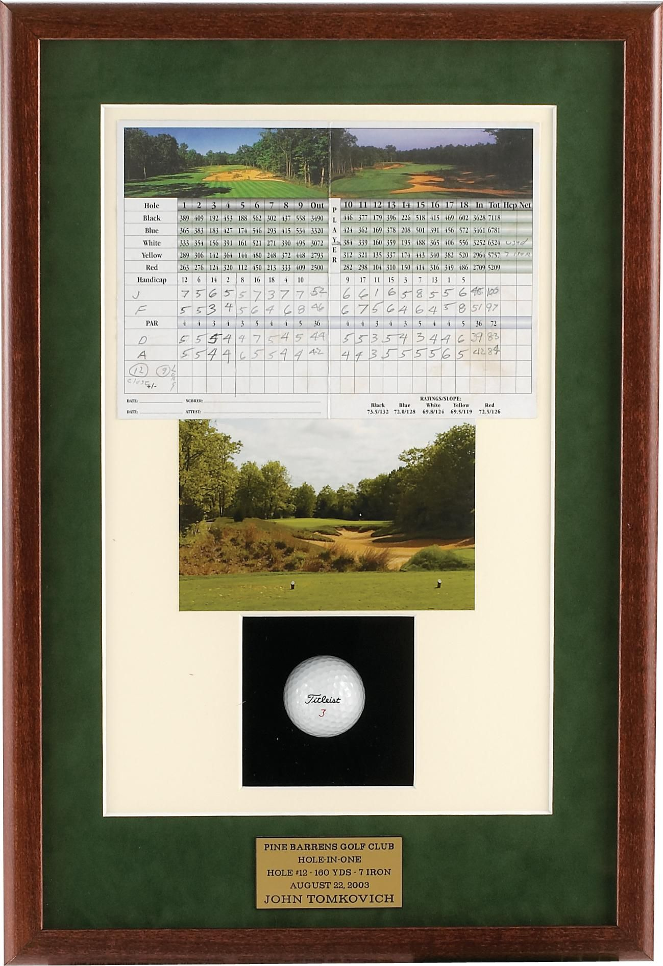 Getting This Hole In One Shadow Box For My First Hole In One Bucket List Hope I Can Get Lucky Shadow Box Hole In One Shadow Boxes