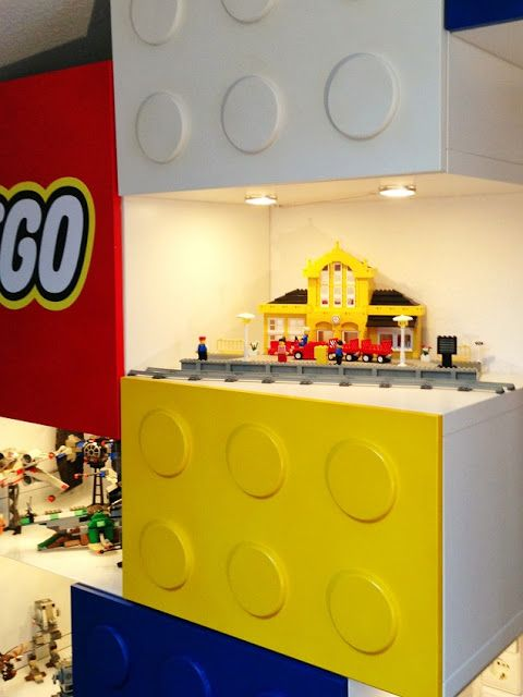 Room 2 Build Bedroom Kids Lego: LEGO Shelves Hacked From The BESTÅ