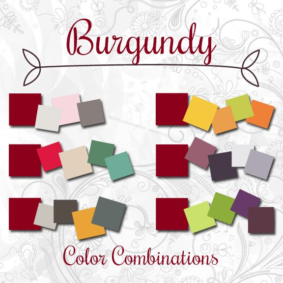 What Colors Coordinate With Burgundy Book Covers