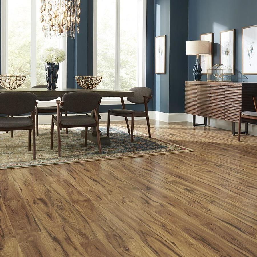 Pergo Portfolio Wetprotect Waterproof Village Grove Hickory 6 14 In W X 3 93 Ft L Embossed Wood Plank Laminate Flooring Lowes Com Wood Planks Flooring Laminate Flooring