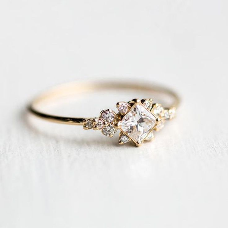Photo of Material: 18 carat yellow gold plated. Main stone: White sapphire. Your opinion…