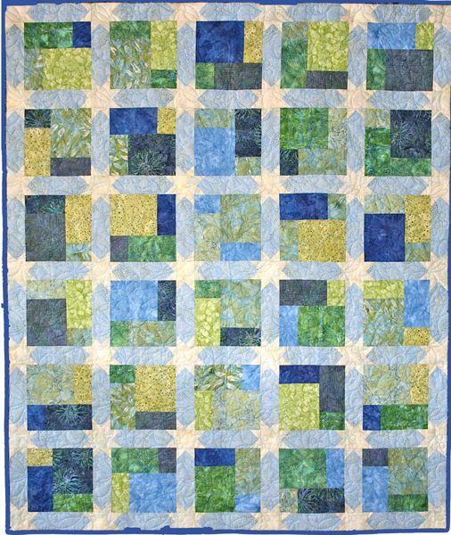 Batik Treat Quilt By Cheri Good Quilt Design