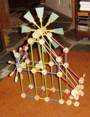 Tinker Toy by Sybil Star, via Flickr