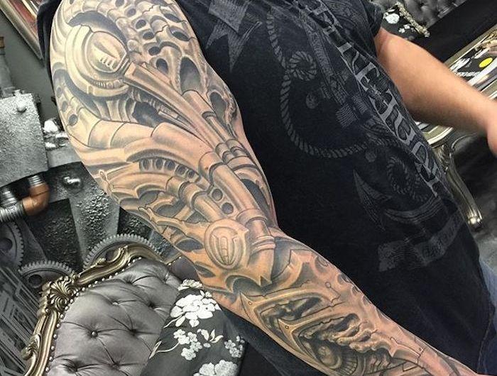 Unterarm Tattoo Mann Vorlagen Maori Tattoos