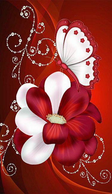 Pin di concetta pancallo su fiori e farfalle flower for Sfondi con farfalle