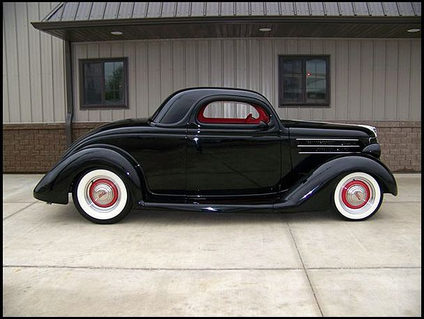 1936 ford 3 window coupe 383 ci automatic mecum for 1936 ford 3 window coupe