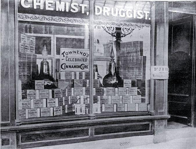 W P Townend S Chemist 1897 183 Colombo St Christchurch