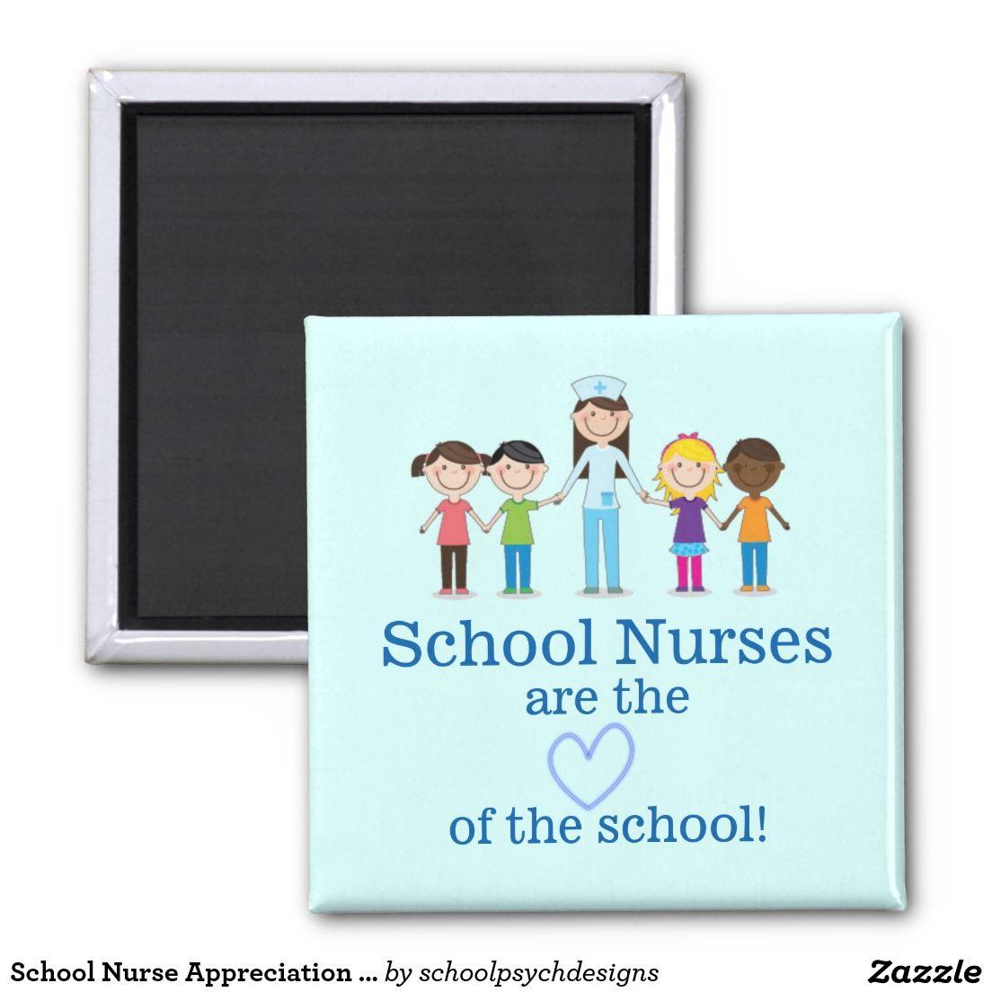 School Nurse Appreciation Magnet