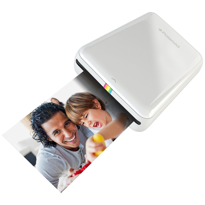 Polaroid Zip Impresora Movil Con Tecnologia De Impresion Zink Zero Ink Compatible Con Dispositivos Ios Y And Mobile Printer Iphone Photo Printer Mini Printer