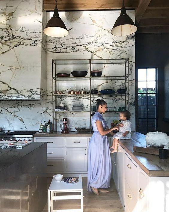Kitchen Art The Range: 厨房, インテリア, タイル