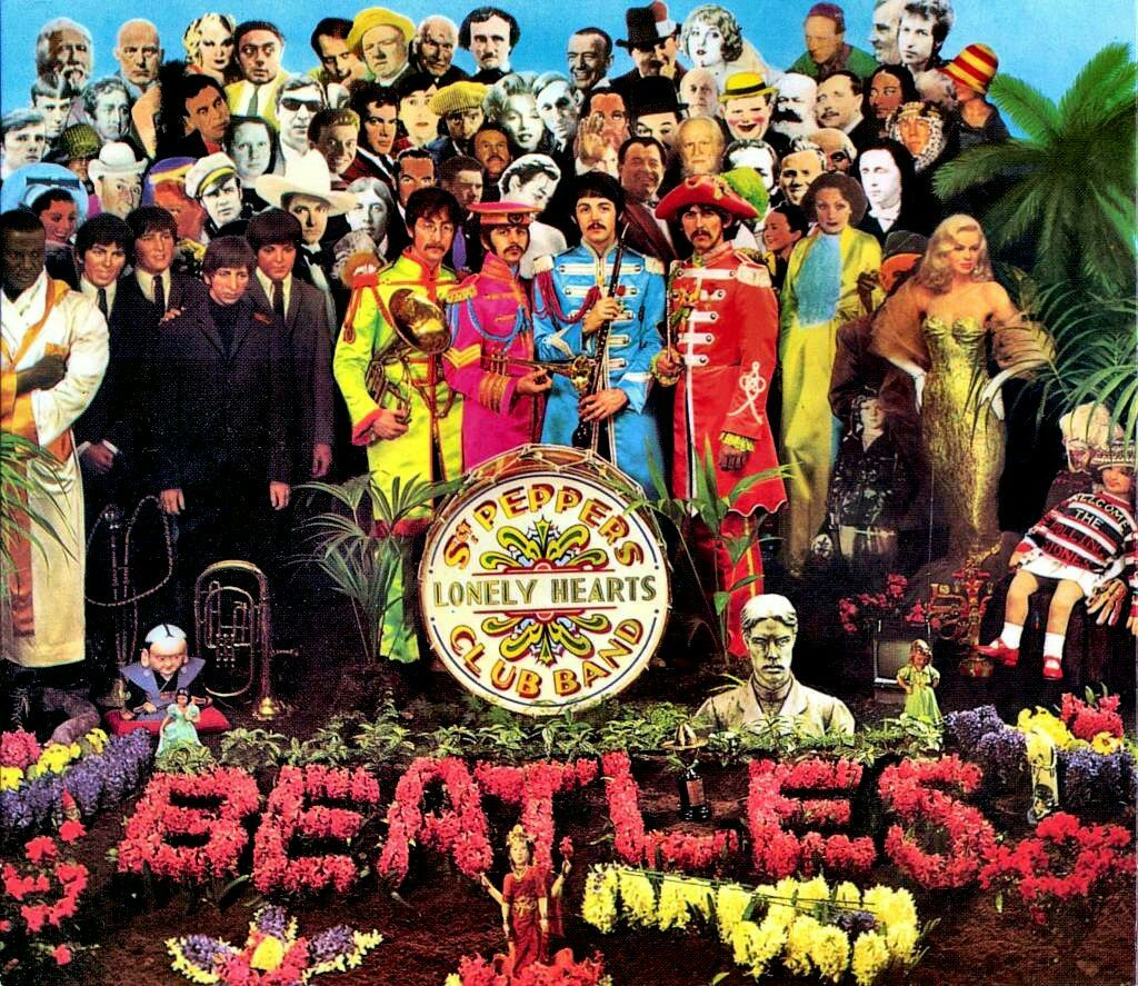 Download The Beatles Album Sgt Peppers Lonely Heart Club Band With High Quality Audio Free Download Songs Rock Pop Muziek Albums Beatles Albumhoezen