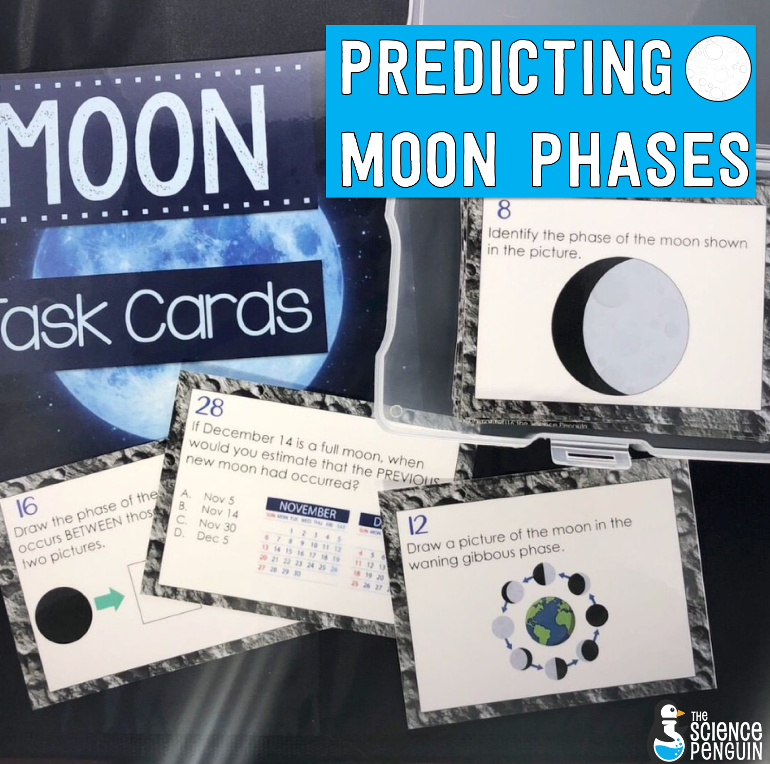 5 Ideas To Teach Students About Moon Phases