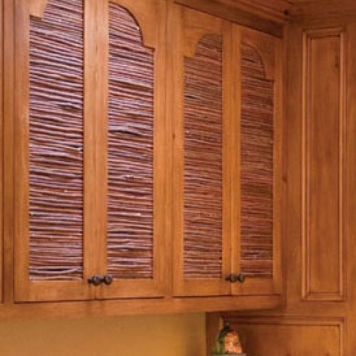 Cover Tv Doors Sombraje Twig Shutters, Valances U0026 Screens   Ernest Thompson  Furniture