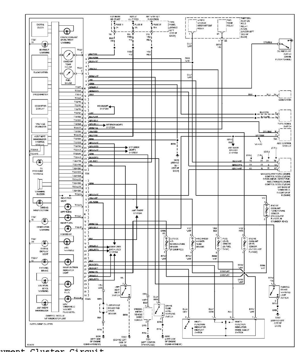 Best Golf 4 Wiring Diagram Volkswagen Free Throughout Voitures Et Motos Schema Electrique Schema