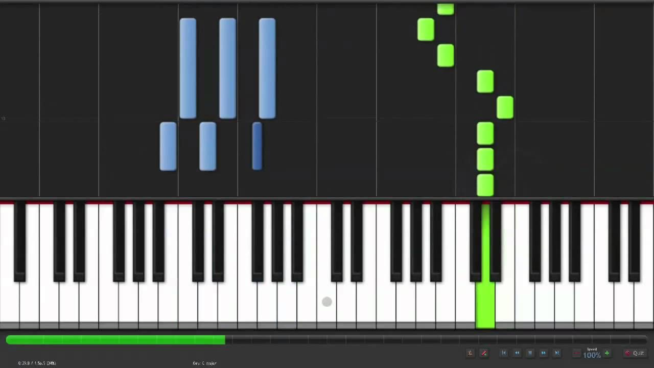 Pin by Julia Flaisch on Piano Easy piano, Ocarina of