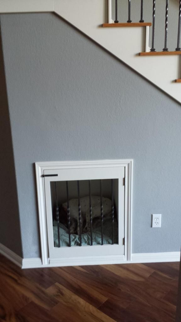 Attrayant Dog Crate Under Stairs   Google Search Bed Under Stairs, Under Stairs Dog  House,