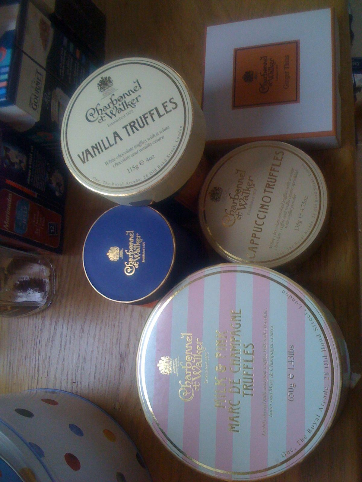 tempting treats...my collection of Charbonnel et Walker (With images) | Charbonnel et walker. Truffles. Walker