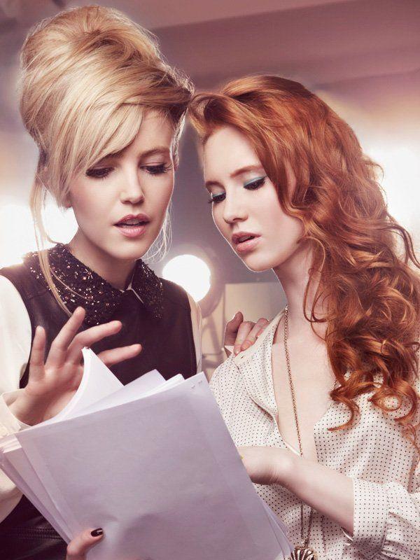 haare färben rot zu blond