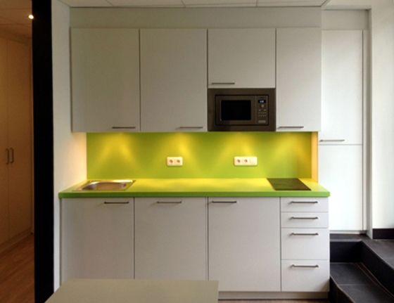 Design teeküche büro  Küche Rückwand Spanplatte beschichtet | Wohnen und Co. | Pinterest ...