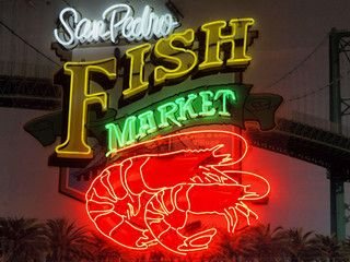 San Pedro Fish Market A Photo On Flickriver San Pedro Fish